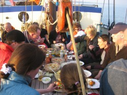 Sailtraining:  von  A Coruña (ES) nach  Dunkirk (FR)