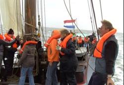 Sommer Segelreise ins holländische Wattenmeer