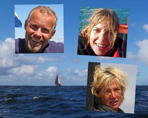 Skipper Dick / Bootsfrau Andrea und Bordfrau Lotta
