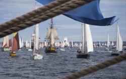 Auf der Ostsee segeln von ROSTOCK  nach KIEL